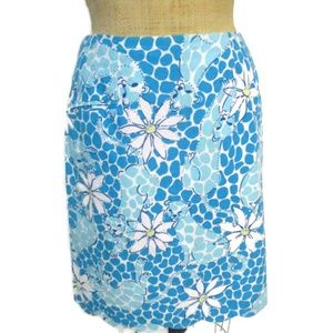 Lilly Pulitzer Leopard Lounge Skirt 6 Fits 4